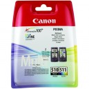 PACK CANON 510+511 ORIGINAL
