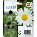 ORIGINAL EPSON 18 NEGRO Compatible, para impresoras Expression Home XP-102, XP-202, XP-205, XP-30, XP-302
