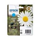 ORIGINAL EPSON 18 CYAN Compatible, para impresoras Expression Home XP-102, XP-202, XP-205, XP-30, XP-302
