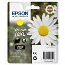 ORIGINAL EPSON 18XL AMARILLO, para impresoras Expression Home XP-102, XP-202, XP-205, XP-30, XP-302