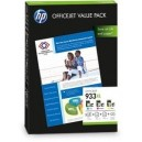 ORIGINAL HP OFFICEJET 933XL Value Pack