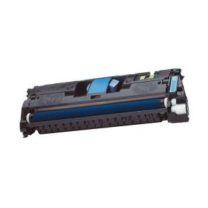 Toner CYAN HP C9701A / CRG-701 / EP-87 compatible, sustituye al toner original C9701A